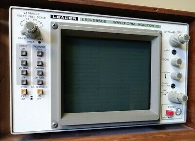 Leader Lbo-5860b Waveform Monitor