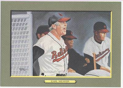 UNSIGNED  PEREZ STEELE GREAT MOMENTS CARD #108 EARL WEAVER - NrMt-Mt from sets