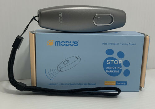 MODUS M-238 Ultrasonic DOG Bark Control And Pet Training Device New In Box - CA$11.00