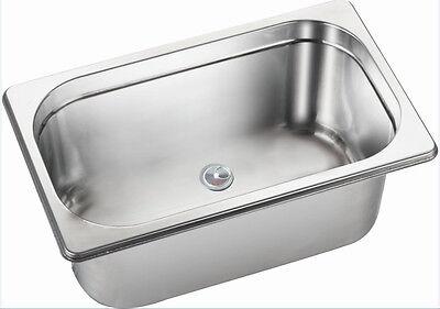 RV Caravan Boat Motor Home Stainless Steel Hand Wash Basin Kitchen Sink GR-568