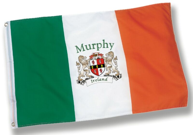 Murphy Irish Coat of Arms Flag - 3