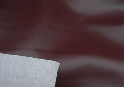 - vinyl Faux Leather upholstery  Burgundy Contract commercial grade fabric per yar