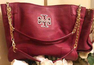 Tory Burch Handbag Tote Leather