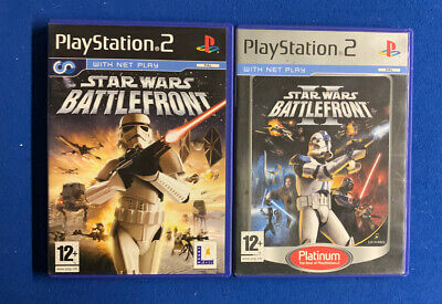 Star Wars: Battlefront 1 & 2  Sony PlayStation 2,