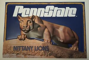 PENN STATE Nittany Lions 3D SHRINE Statue Poster *EXTREMELY RARE**MINT*