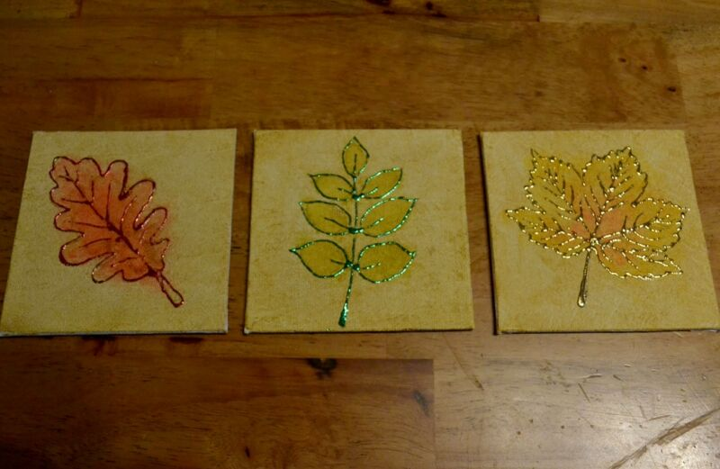 Red Oak, Green Ash and Golden Sycamore together.