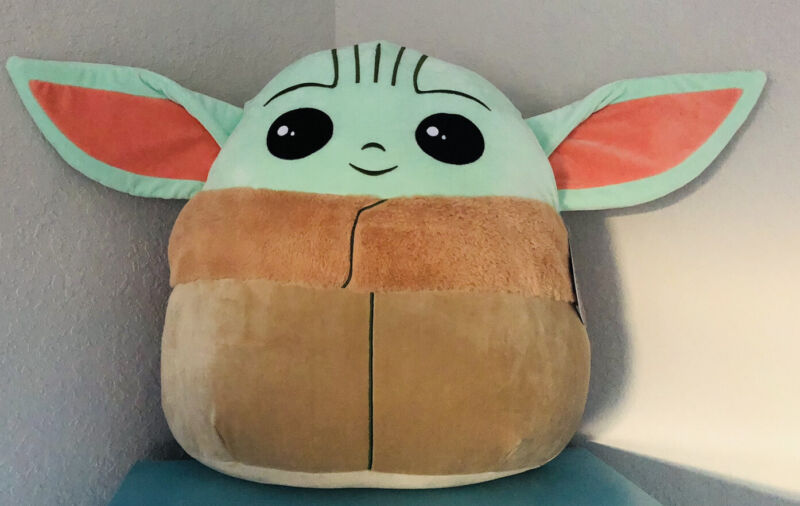 Star Wars Mandalorian The Child Baby YODA - Squishmallow  20 Inch XL New!!!
