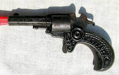 FINE ANTIQUE CAST IRON U.S.A. 1776 ~1876 COMMEMORATIVE 100 YEAR 1876 TOY CAP GUN