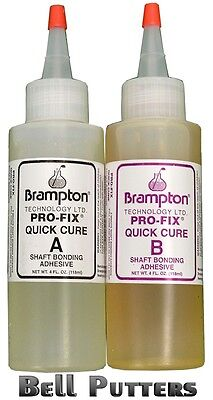 2 4 oz. Bottles 8 ounce kit Brampton Pro-Fix 5 & 15 Quick Cu