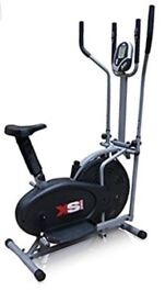 2 in 1 cross trainer and bike