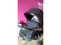 Mothercare Orb Pram And Pushchair + Accessories