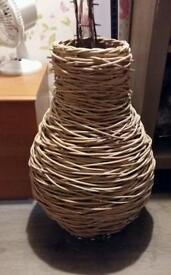Beautiful Wicker Vase