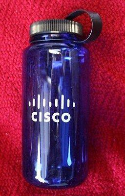 Water Bottle With Logo (Cisco Logo Water Bottle --  Blue. 8