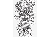 Professional seamstress/sewing/ designer / pattern cutting / CAD illustration