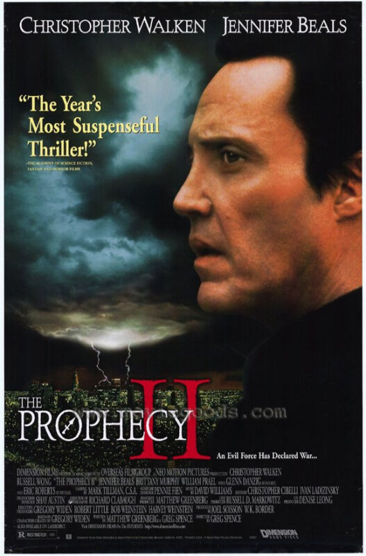 The Prophecy II (aka Ashtown) - screenplay for 1998 film