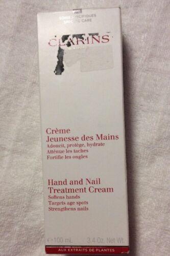 Clarins Hand & Nail Treatment Cream, 3.4-Ounce