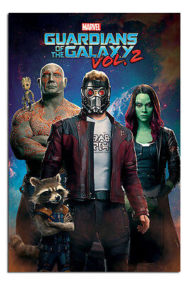 Guardians Of The Galaxy Vol 2 Characters In Space Poster - Maxi Size 36 x (Characters In Guardians Of The Galaxy 2)