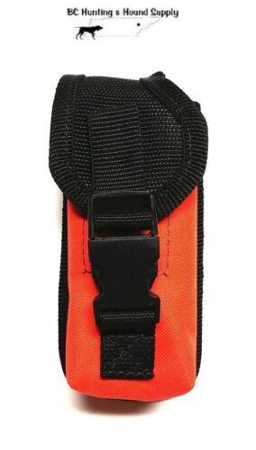 Custom Made Orange Carry Case for Garmin Alpha 200i Handheld (Secure/Protection)