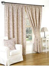 Hamilton McBride Genius Fully Lined Mink Curtains 66x90in(167x228cm)