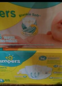 PAMPERS Swaddlers + Baby Creme