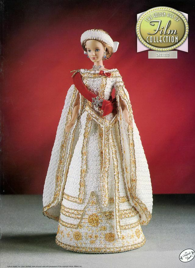 Camelot Outfit for Barbie Doll Annie/'s Film Collection Crochet Pattern NEW