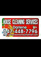 European House Cleaning Lady