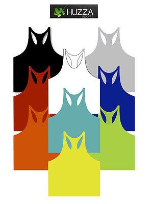 Gym Bodybuilding Tank Top Workout Muscle Stringer Singlet Racer Back  Y Back Cotton Stringer Tank Top