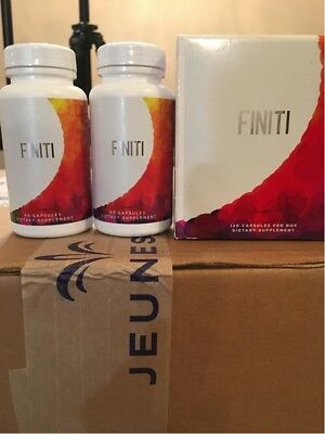 1 SET of Jeunesse FINITI Supplementary Dietary (2 bottles) USA VERSION ONLY