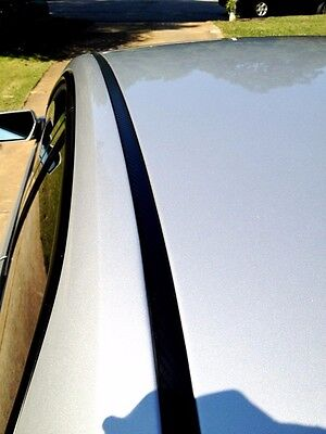 (2000-2005 CHEVY IMPALA BLACK ROOF TOP TRIM MOLDING KIT By Automotive Authority)