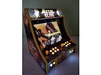 Bartop arcade machine Retro 70s 80s 90s 660 + Games gamers machine.