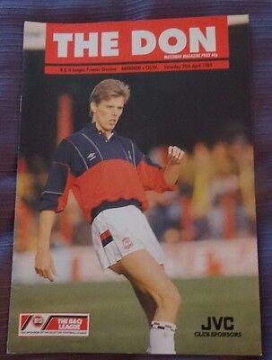 Aberdeen v Celtic, 29 April 1989