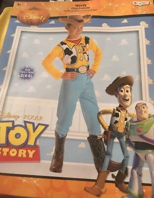 Toy Story Woody Halloween Costume Child Small (4-6) - Woody Halloween
