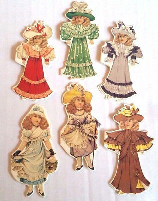 TUCK PAPER DOLL NOTE CARDS Pkg of 12 MINT/Sealed RARE Shackman WE SHIP WORLDWIDE