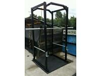 gym equipment heavy duty power cage