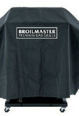 Broilmaster Gas Grill Black Factory Heavy-Duty Cover without Shelves DPA 8 - Broilmaster Grill Cover