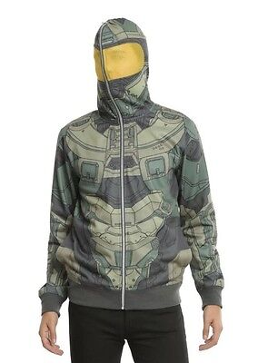 Halo official licensed Master Chief cosplay costume hoodie - Master Chief Cosplay Kostüm