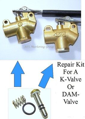 Carpet Cleaning  Wand-Valve Repair Kit