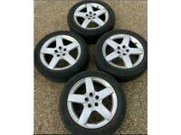 """17"""" 5x108 Peugeot 407 Alloy Wheels Alloys With Expert Van Dispatch Citroen"""