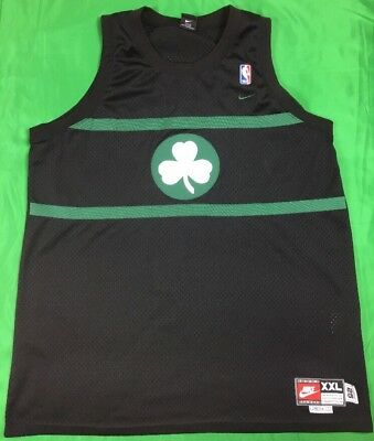 ff89e8af Nike Rewind 1925 Boston Celtics Paul Pierce NBA Jersey Men's SZ 2XL Black  Rare