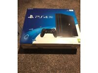 PS4 pro brand new and sealed