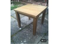 2 x Oak Side Tables