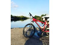 Norco charger 7.1 2017 1 month old hard tail mountain bike