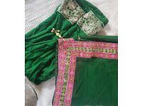 Green/Pink Anarkali