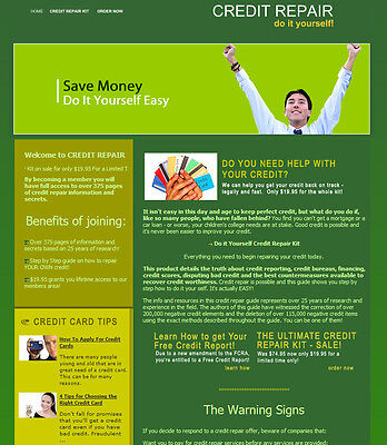 Credit Repair Website For Sale All Software And Ebooks Not A Affiliate