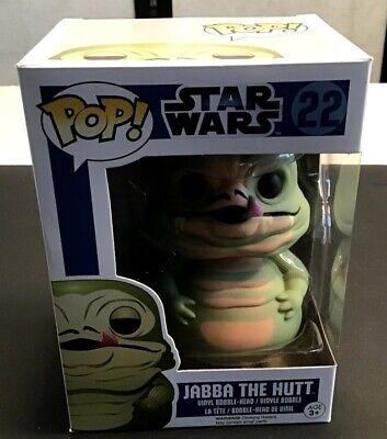Funko Pop Star Wars Jabba The Hutt Bobble Head #22 New in Box