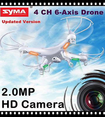Syma X5C-1 Explorers 2.4Ghz 4CH 6-Axis Gyro RC Quadcopter Drone w/HD Camera RTF