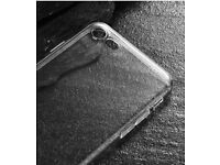 Transparent Case for Apple iPhone 7 / 8 Clear Back Cover TPU Soft Silicone Gel BRAND NEW