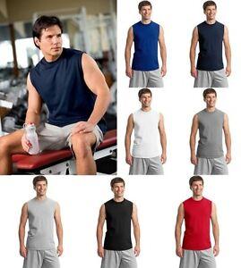 JERZEES-Mens-S-2XL-3XL-Heavyweight-Cotton-Sleeveless-Muscle-Sports-T-Shirt-49M