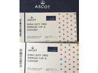 Ascot Races - Shergar Cup 2 tickets Queen Ann Enclosure