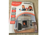 Kiddicare Extendable Fire Guard EUC - adjusts to fit fireplaces up to 167cm wide GUC